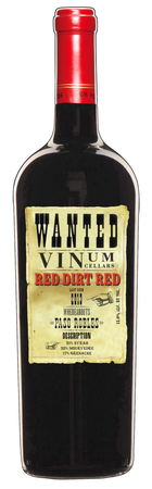 2014 Red Dirt Red, Paso Robles