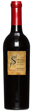 2016 Spring Street Winery Cabernet Sauvignon, Paso Robles