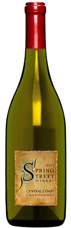 2017 Spring Street Winery, Chardonnay, Central Coast